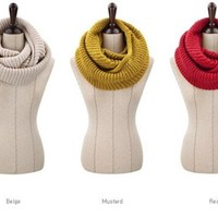 Handmade Winter knitting Wool Collar Neck Warmer woman Ring Scarf