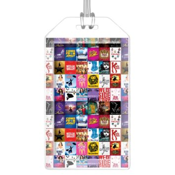 Broadway Luggage Tag