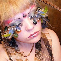 jupiter feather eyelashes by *kukuramutta on deviantART