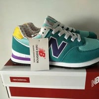 new balance 574 women sport casual multicolor n words sneakers running shoes-5