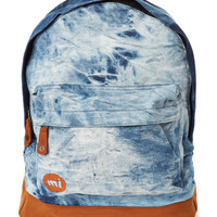 Mi-Pac Backpack in Tie Dye Denim