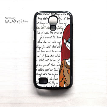 Jack And Sally Nightmare Before Christmas Couple A for Samsung Galaxy Mini S3/S4/S5 phone case