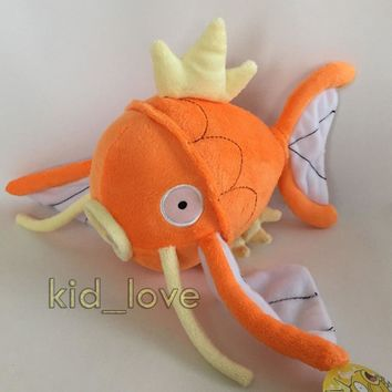 "s Magikarp #129 Plush Soft Toy Stuffed Animal Doll Teddy 8""Kawaii Pokemon go  AT_89_9"