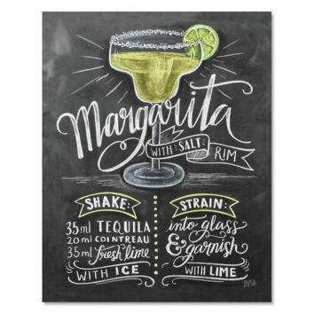 Margarita Recipe - Print & Canvas