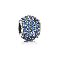 PANDORA Blue Pave Lights Charm