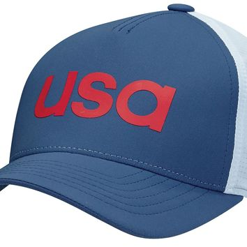 Licensed Golf New Adidas  2016 Olympic USA Climacool Flexfit Fitted Hat Cap