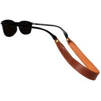 Sounder Goods Leather Sunglass Straps Cognac