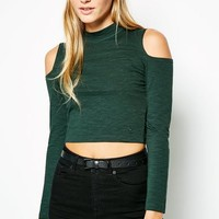 EASENHALL COLD SHOULDER TOP