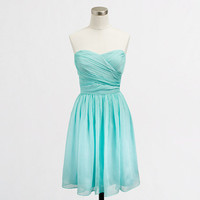 Factory strapless sweetheart dress in poly