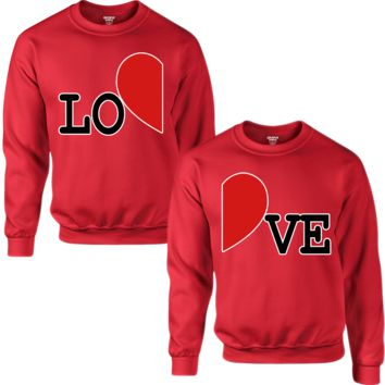 LOVE COUPLE SWEATSHIRT