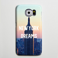 NYC Empire Sunset Dreams iPhone 6 Galaxy s6 Edge Case Galaxy s6 Case Samsung Galaxy Note 5 Case s6-093