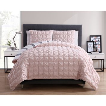VCNY Brielle 3-piece Duvet Cover Set | Overstock.com Shopping - The Best Deals on Duvet Covers