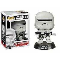Star Wars Episode VII The Force Awakens 1st Order Flametrooper Funko POP! Vinyl Figure #68