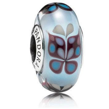 CREY9N Authentic Pandora Jewelry - Butterfly Kisses Blue