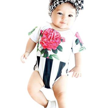 Newborn Baby Jumpsuits - Infant Girls Clothing