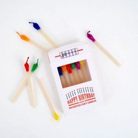 Happy Birthday Match Stick Candles