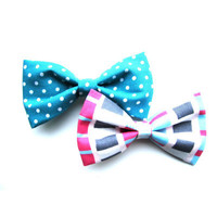 Teal and Pink Bow Pack