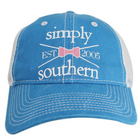 Simply Southern Preppy Collection Cross Bow Hat in Royal HAT-CROSSBOW-ROAL