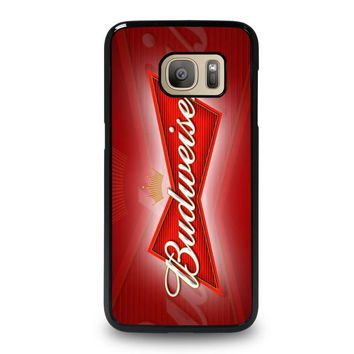 budweiser samsung galaxy s7 case cover  number 1