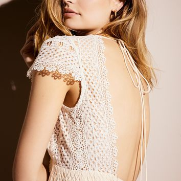 Free People Gemma's Limited Edition White Dress