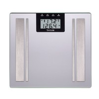 Taylor Body Fat Digital Bathroom Scale (Grey)