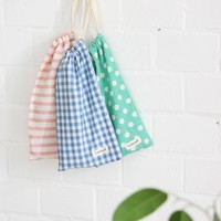 Pattern Cotton Pencil Pouch