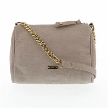 Del Cesca Juniors Zip Pocket Crossbody at Von Maur