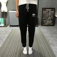 """Adidas"" Women Sport Casual Straight Cylinder Sweatpants Leisure Pants Trousers"