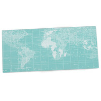 "Catherine Holcombe ""Welcome to my World"" Desk Mat, 22"" - Outlet Item"