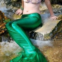Swimmable Mermaid Tail Costume by mermaiddalyn on Etsy