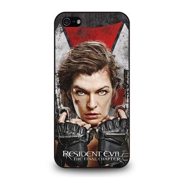 RESIDENT EVIL FINAL CHAPTER iPhone 5 / 5S / SE Case Cover