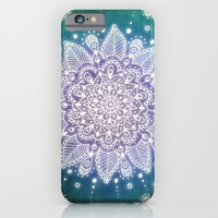 Peacock Mandala iPhone & iPod Case by Jenndalyn | Society6