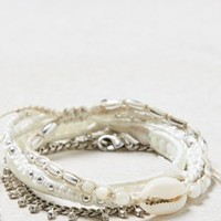 AEO Women's Shell & Bead Bracelet Set (Multi)