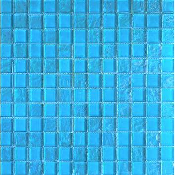 Aqua Blue 1X1 Glass tile