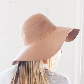 Floppy Wool Hat – BlushandBlue