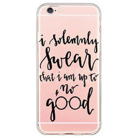 I Solemnly Swear That I Am Up to No Good Harry Potter Case for iPhone