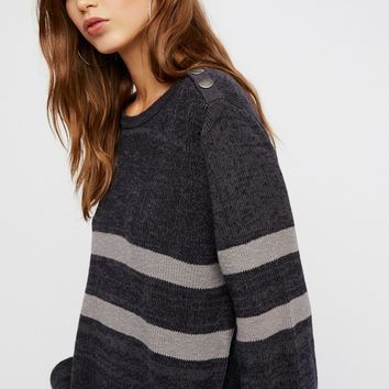 Free People On Your Team Sweater Mini Dress