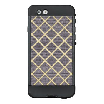 Stylish Geometric Pattern LifeProof® NÜÜD® iPhone 6 Case