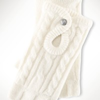 Cashmere Cabled Gloves