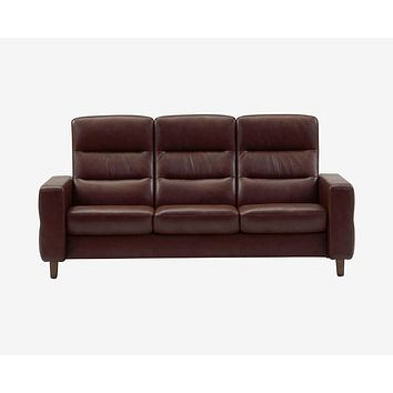 Stressless® Wave High Back Sofa