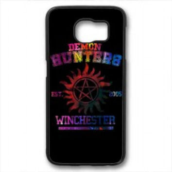 supernatural demon hunters galaxy for samsung galaxy s6 case