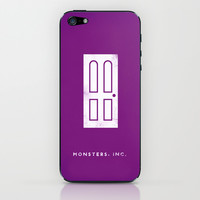 Monster's, Inc. iPhone & iPod Skin by PANDREAA