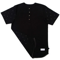 The Pros Black Henley Shirt