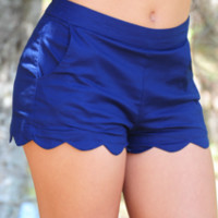 Walk This Wave Shorts: Navy | Hope's