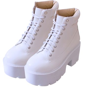 White High Boots