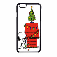 Snoopy Christmas Lights Tree iPhone 6 Case