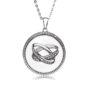 Blessed Marriage Necklace in Silver
