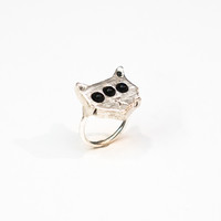 Kaleidoscope Cats Ring
