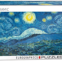Starry Night - Vincent Van Gogh - 1000 Piece Jigsaw Puzzle