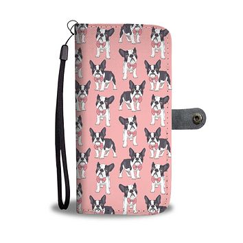 Classy Boston Terrier Wallet Phone Case